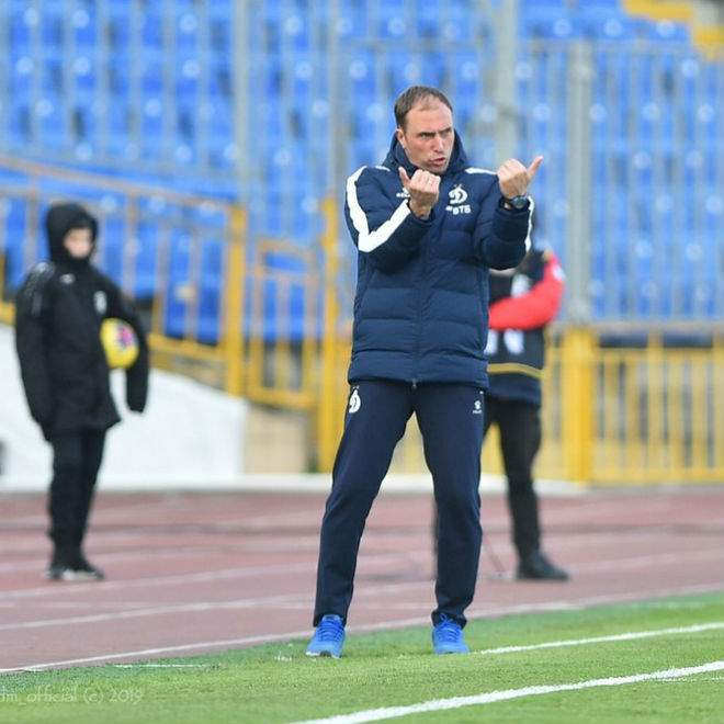 «Динамо» объявило об отставке Новикова, Кульчий - и. о. главного тренера