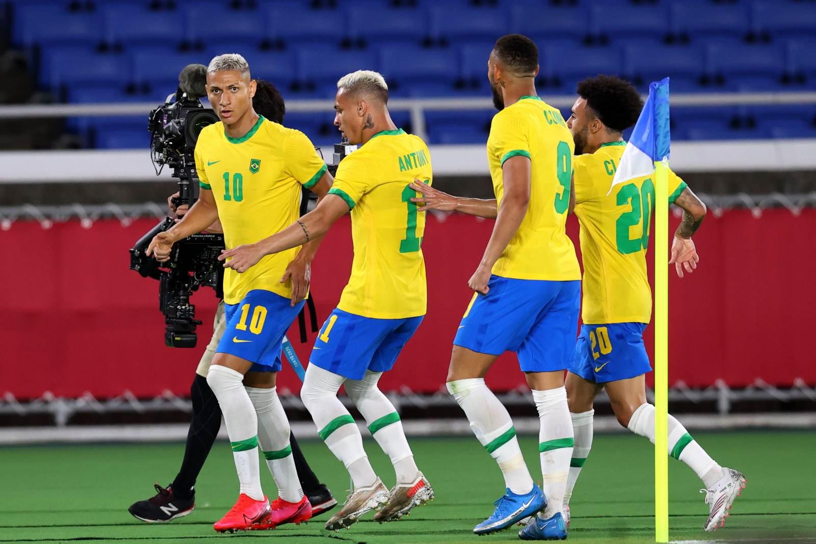 Сборная Бразилии прошла Египет по пути в полуфинал