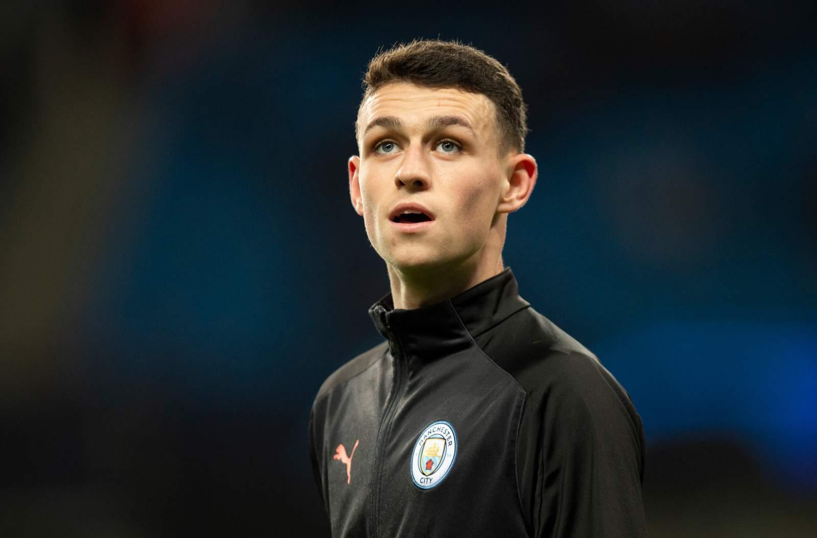Фоден недоволен своим положением в «Манчестер Сити»