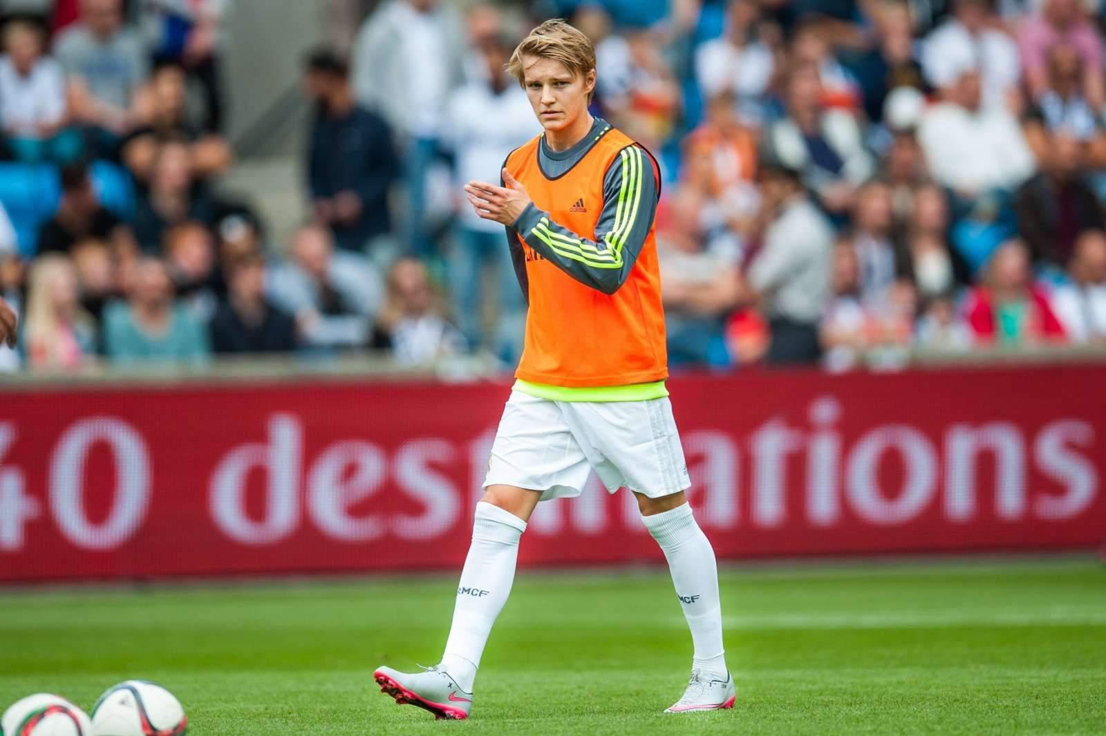 Эдегор прибыл в Лондон для подписания контракта с «Арсеналом»