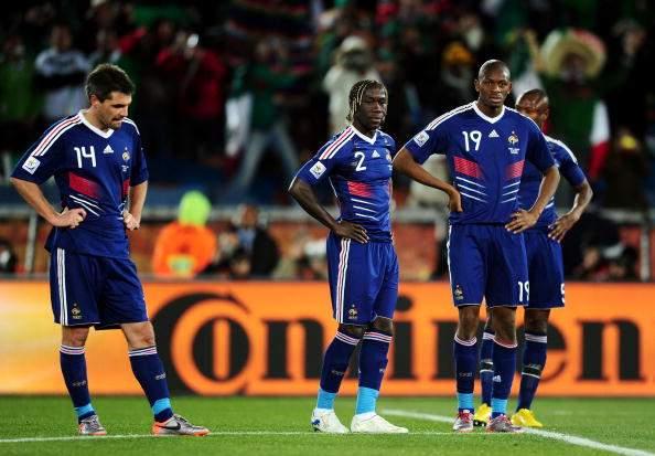 Футболистов сборной Франции допросили о скандале на чемпионате мира