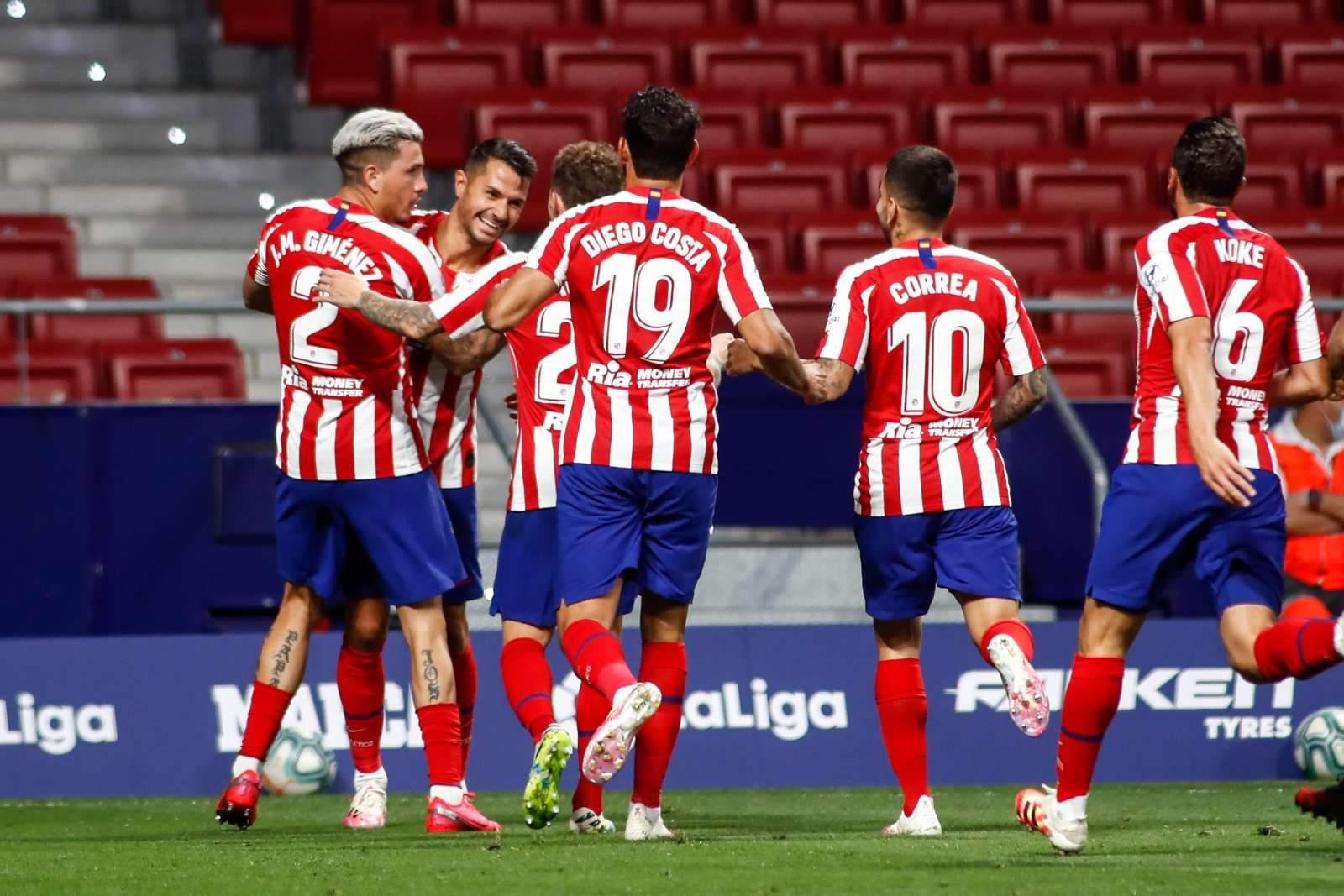 «Реал Сосьедад» - «Атлетико» - 0:2 (закончен)