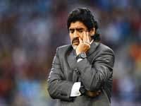 """Марадона: """"Плакали, когда проиграли немцам"""""""