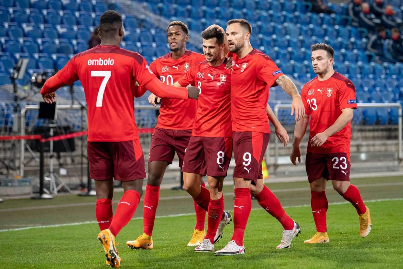 Швейцария - Турция - 3:1 (завершён)