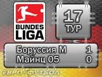 """Гладбахская """"Боруссия"""" тактически переиграла """"Майнц 05"""""""