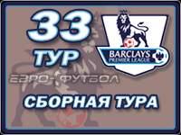 Символическая сборная 33-го тура чемпионата Англии