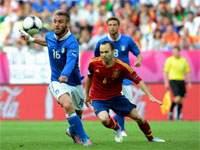 Испания – Италия – 4:0 (закончен)