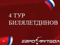 Билялетдинов - худший футболист 4-го тура чемпионата России