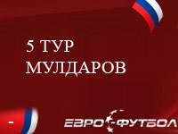 Мулдаров - худший футболист 5-го тура чемпионата России