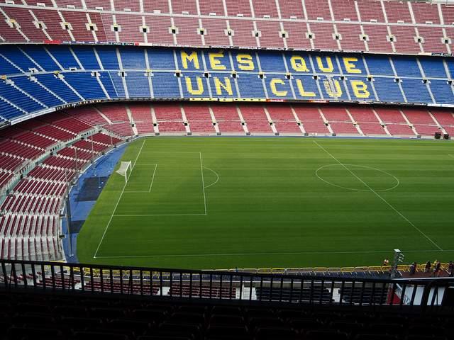 Стадион Камп Ноу - расписание матчей - Евро-Футбол.Ру Стадион Барселоны Вместимость