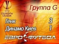 """Киевское """"Динамо"""" снова проиграло """"Генку"""""""