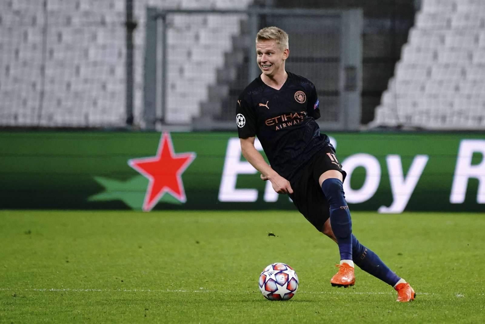 «Манчестер Сити» планирует продлить контракт с Зинченко