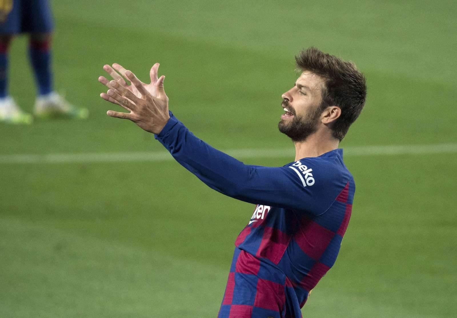 «Барселона» рассказала о травме Пике