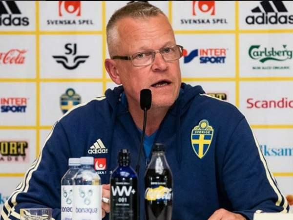 Наставник сборной Швеции оценил игру Ларссона