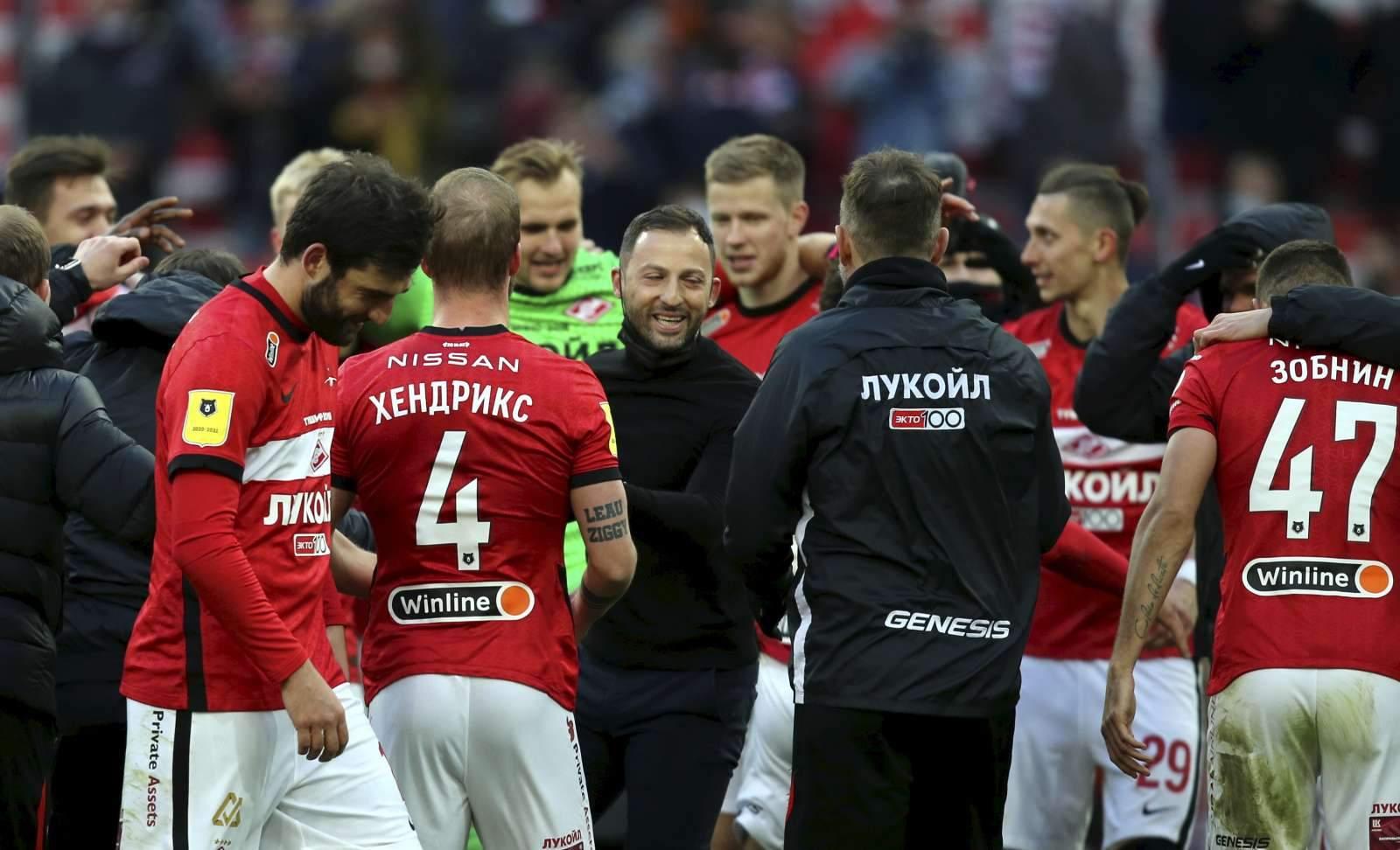 «Спартаку» достаточно не проиграть «Ахмату», чтобы выйти в Лигу чемпионов
