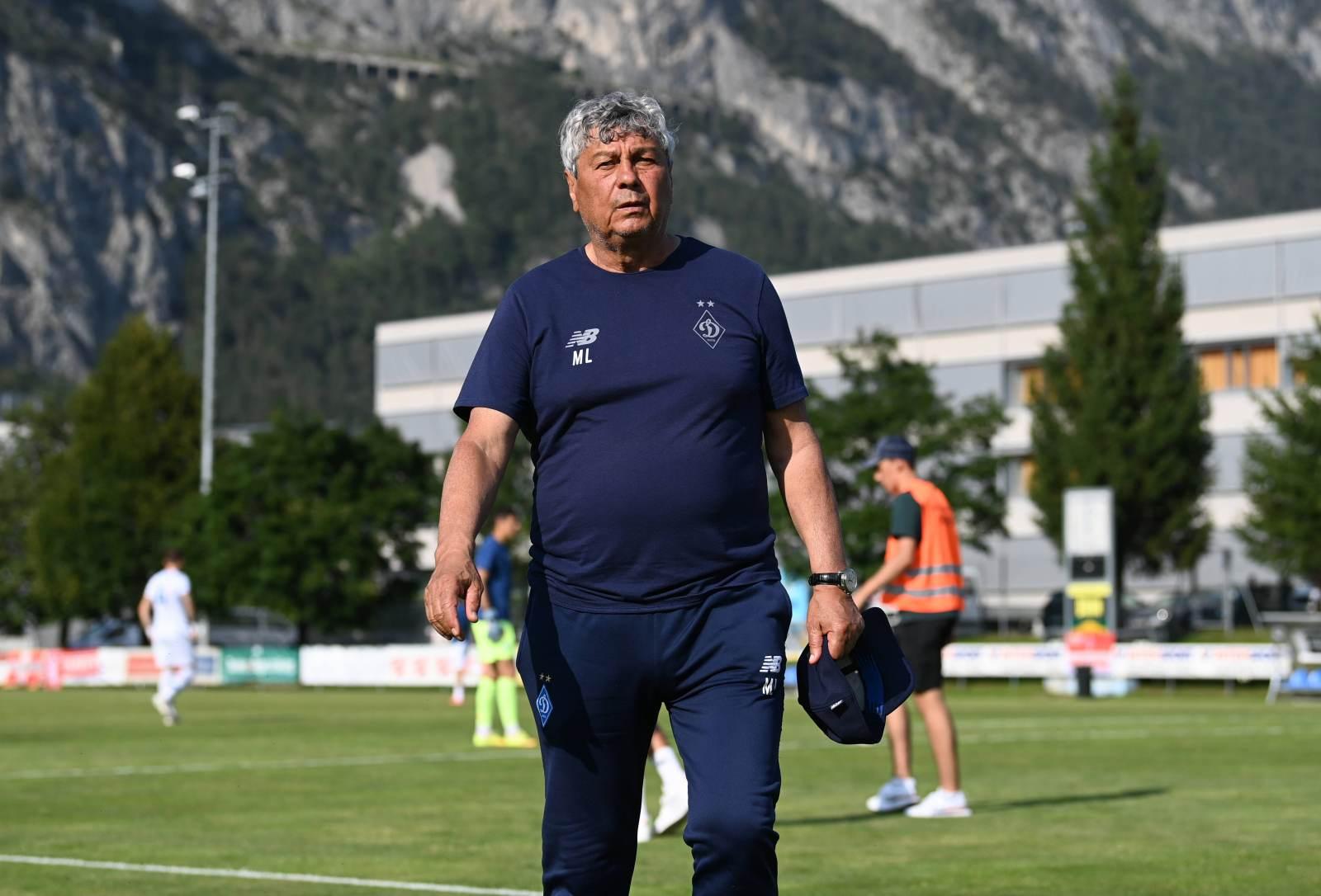 Контракт Луческу с киевским «Динамо» рассчитан до 2024 года
