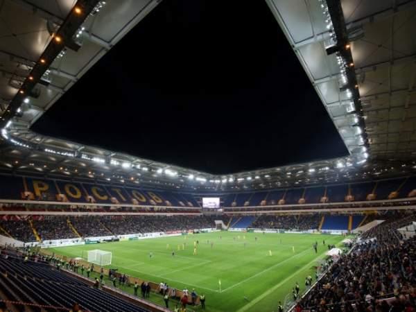 Стадион «Ростова» транслирует благодарность медицинским работникам