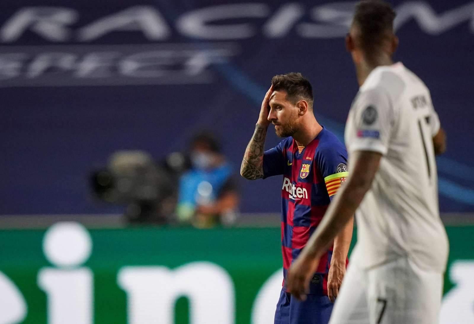 «Барселона» разгромила «Осасуну», Месси посвятил гол Марадоне