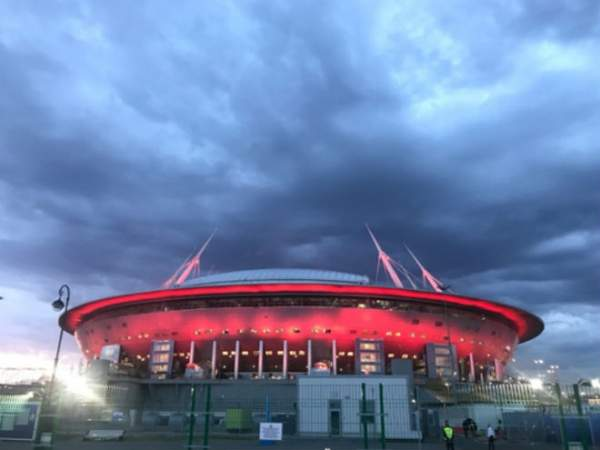 Игрок «Зенита» сбил дрон «хулиганов» на «Газпром Арене»