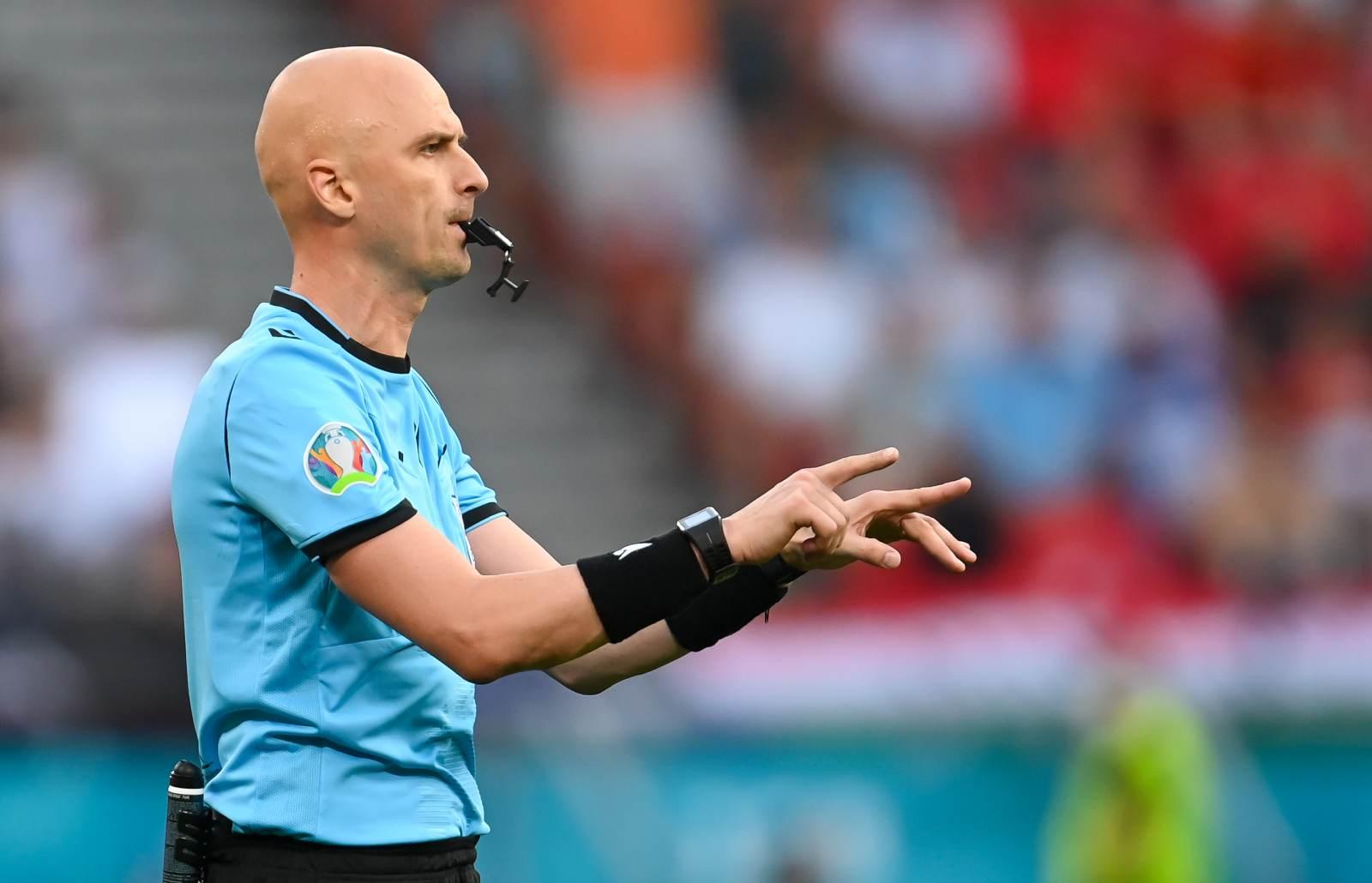 Карасёв - главный судья матча Италия - Испания в полуфинале Лиги наций