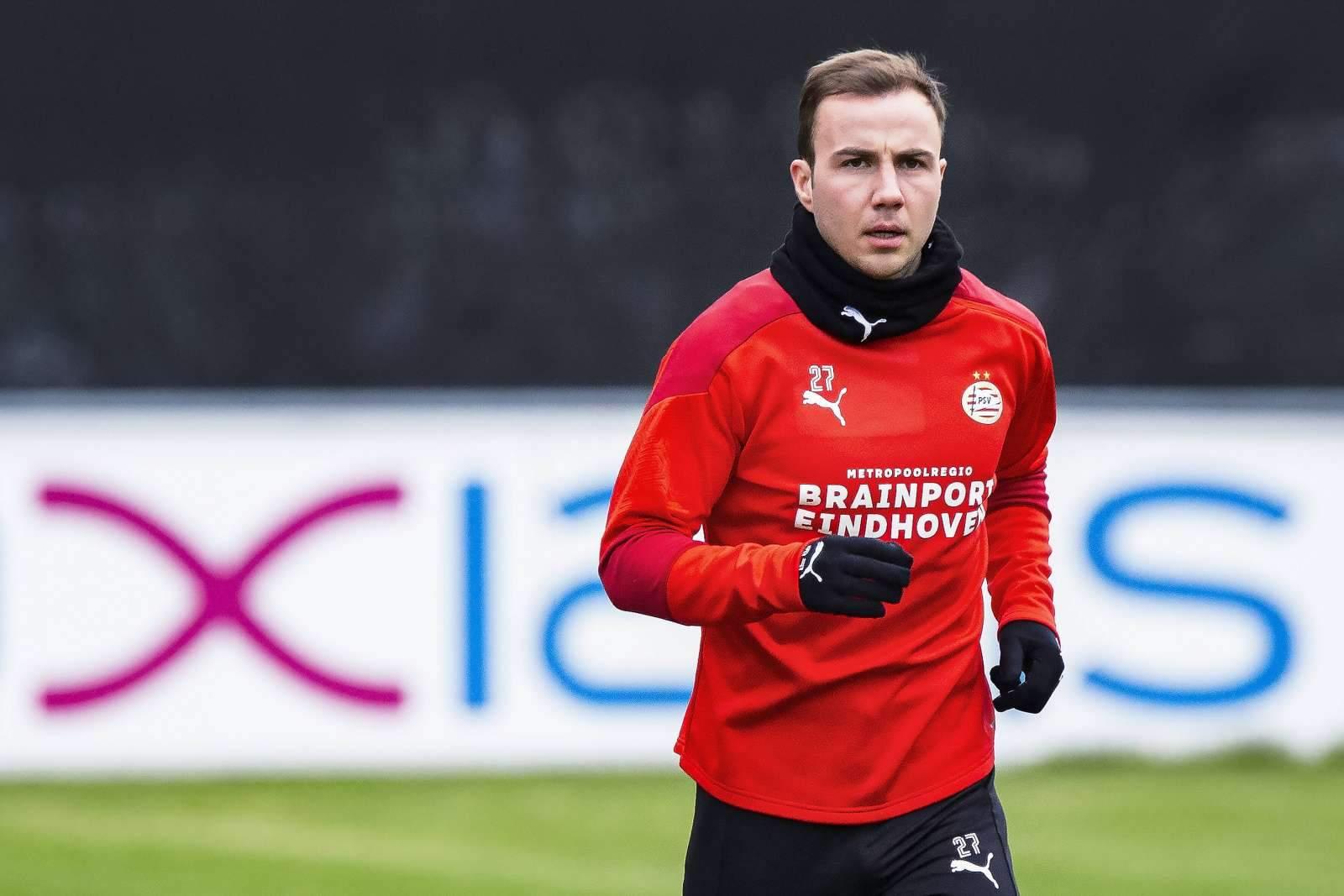 Гётце признали лучшим игроком недели в Лиге Европы
