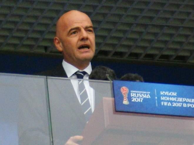 Инфантино: «Был разочарован, увидев пустые трибуны на матче КНДР - Южная Корея»