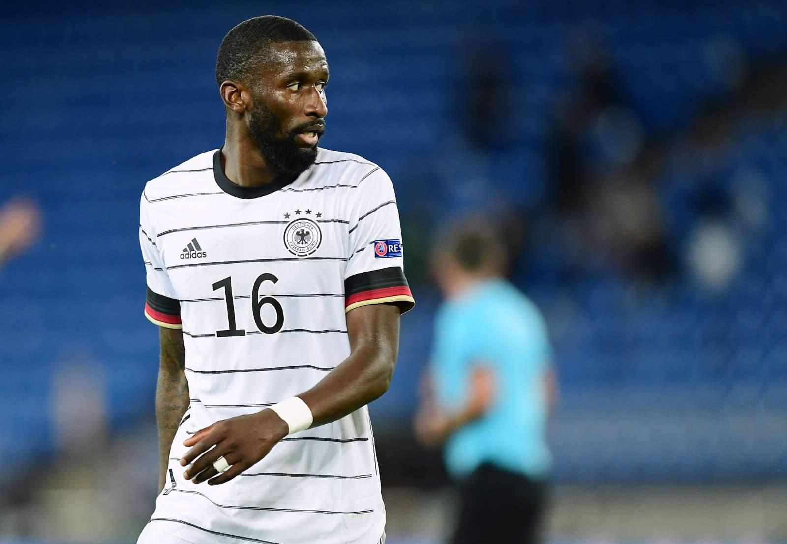 Рюдигер пытался укусить Погба в матче Франция - Германия
