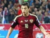 Дзагоев отыграл в матче с Бельгией лишь 15 минут