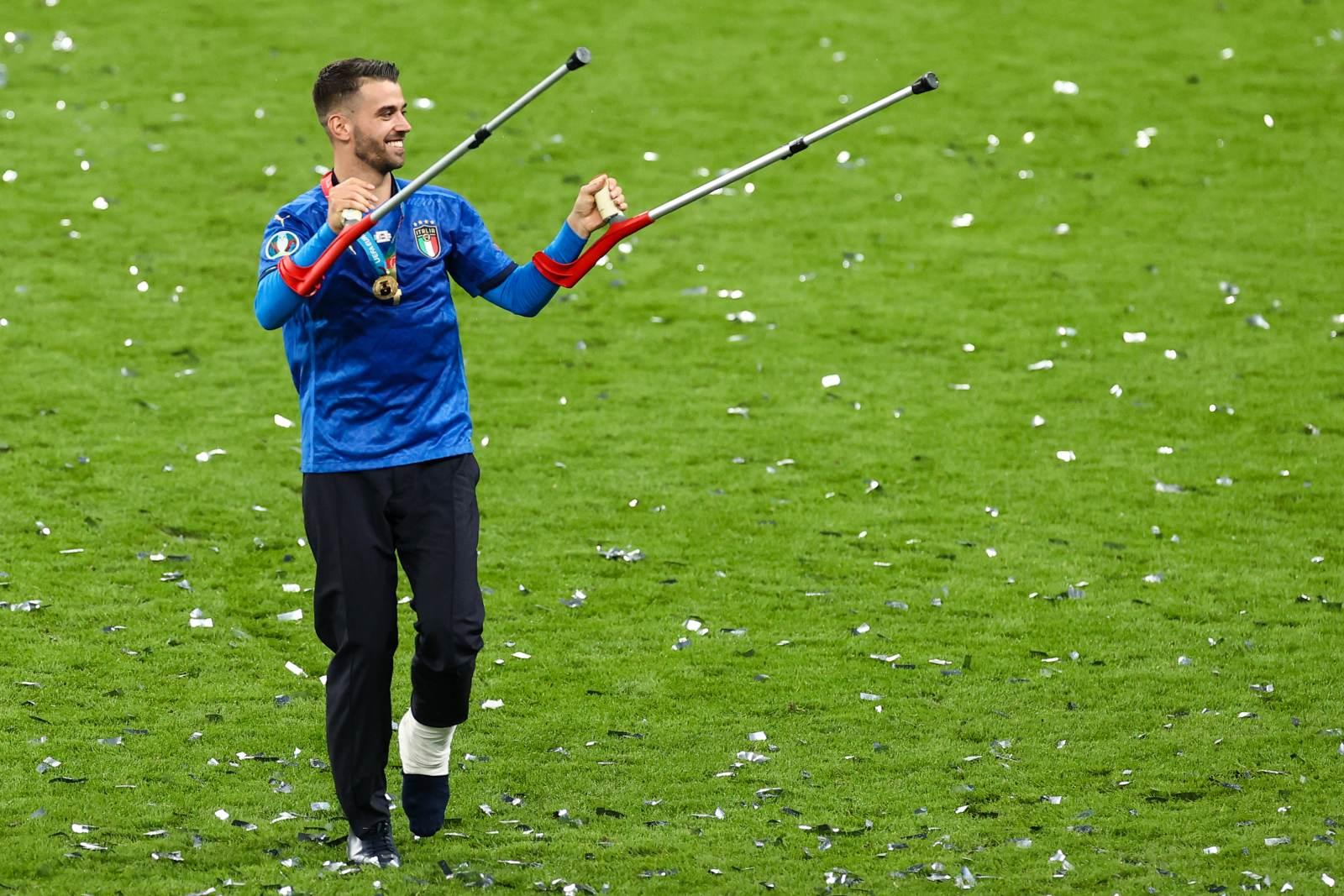 Спинаццола напишет книгу о победе сборной Италии на Евро