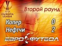 """""""Нефтчи"""" вырвал путёвку в третий отборочный раунд Лиги Европы"""