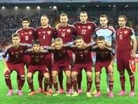 Сборная России сыграет против Бельгии в красной форме