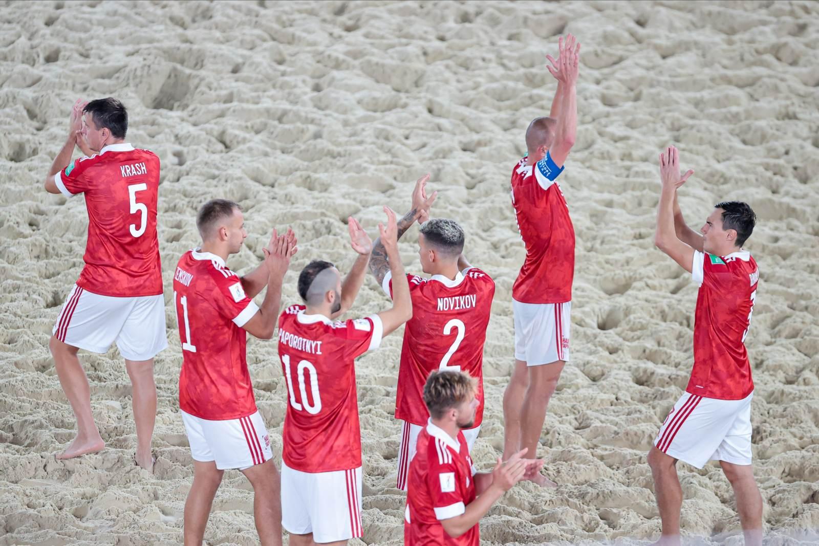 Российские «пляжники» пробились в финал чемпионата мира
