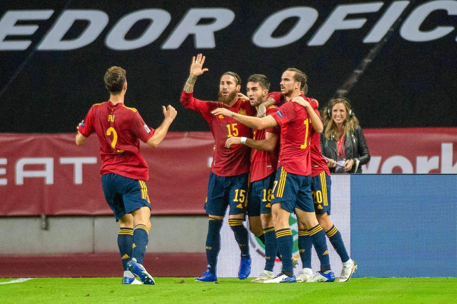 Испания - Греция - 1:1 (закончен)