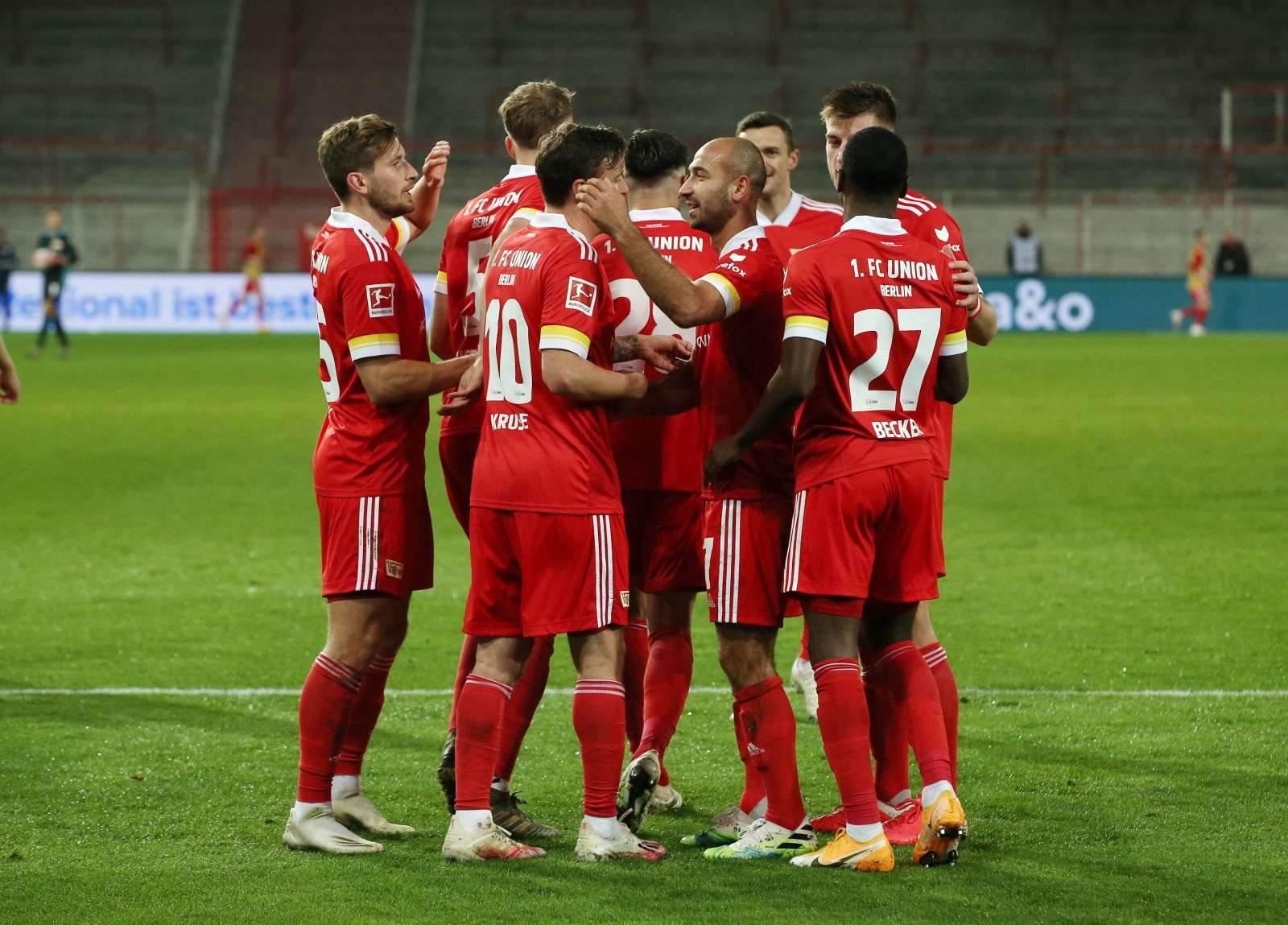 «Унион» перед финальным свистком забил единственный гол в ворота «Байера»
