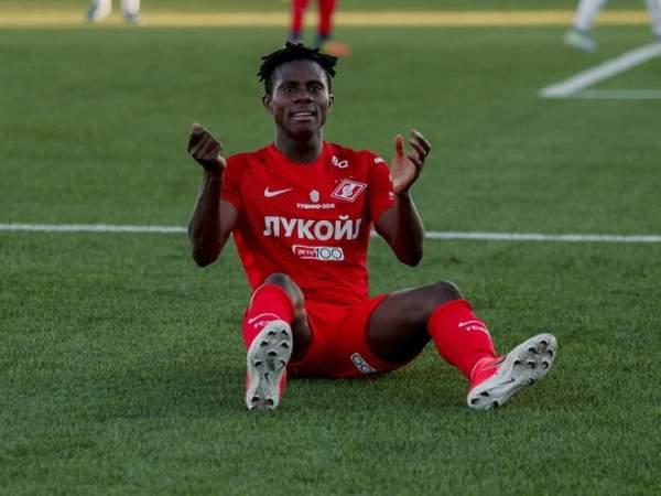 Нападающий «Спартака-2» Нимели оформил хет-трик за 20 минут в матче с «Факелом»