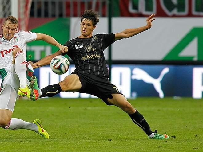 Портнягин забил первый гол с сентября 2016 года