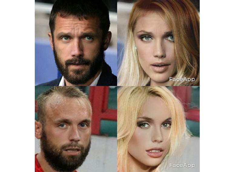 Как выглядели бы Глушаков, Ганчаренко, Тедеско и Карпин, если бы они были женщинами