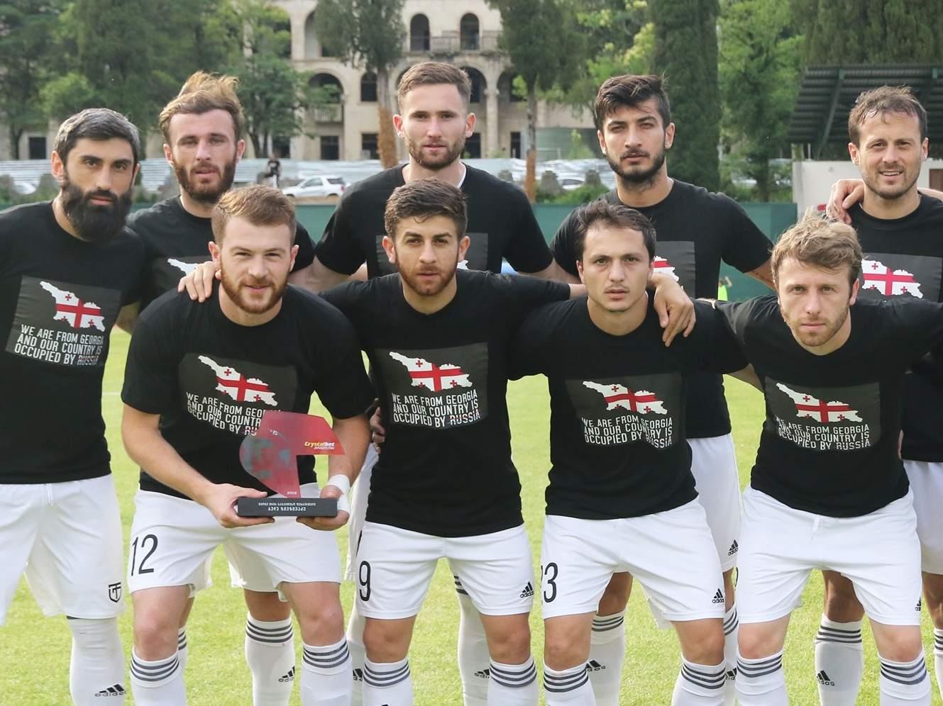 Федерация футбола Грузии поддержала антироссийскую акцию
