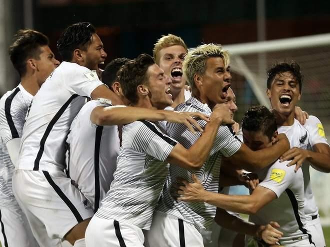 Мы играем белыми: Сборная Новой Зеландии