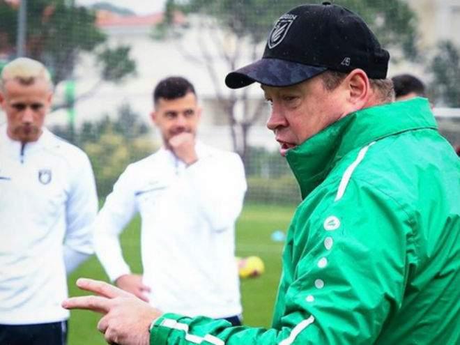 Игрокам «Слуцка» перед игрой показали установку Слуцкого из «КраСавы»