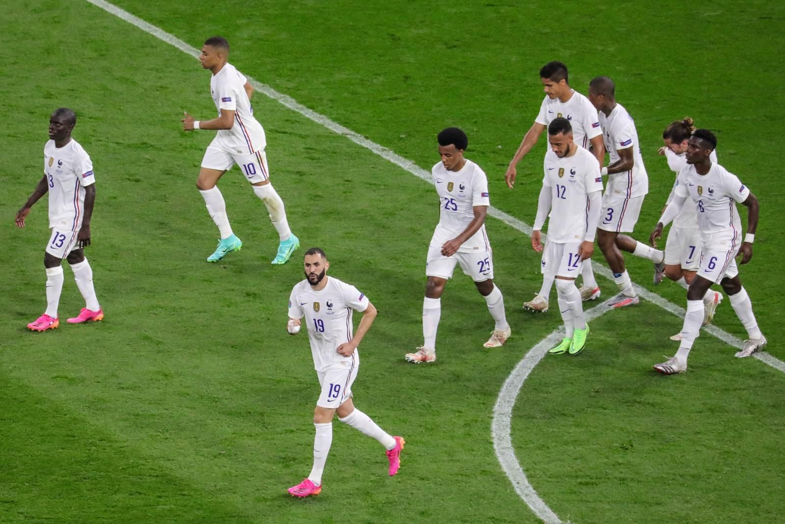 Испания - Франция - 1:2 (закончен)