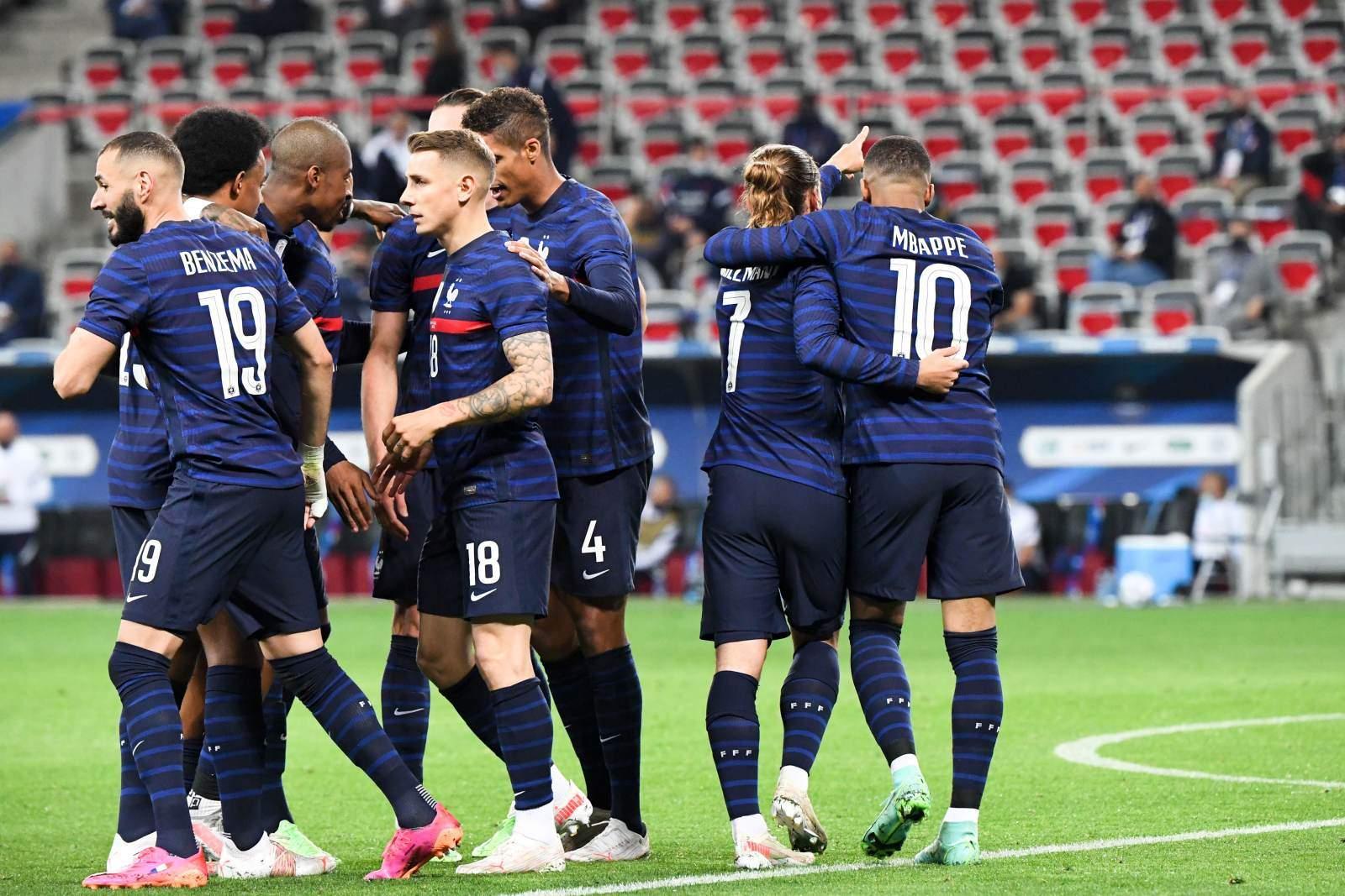 Франция - Болгария - 3:0 (закончен)