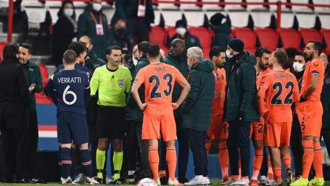 Что стало с арбитром, из-за «расизма» которого был сорван матч Лиги чемпионов