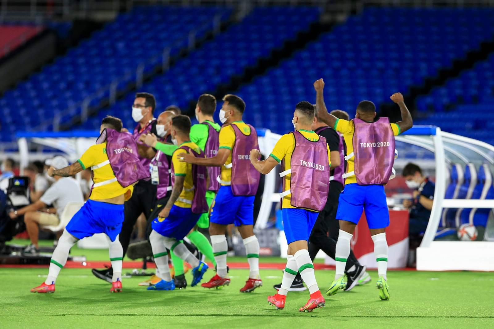 Сборная Бразилии победила Мексику в серии пенальти и стала финалистом Олимпийских игр