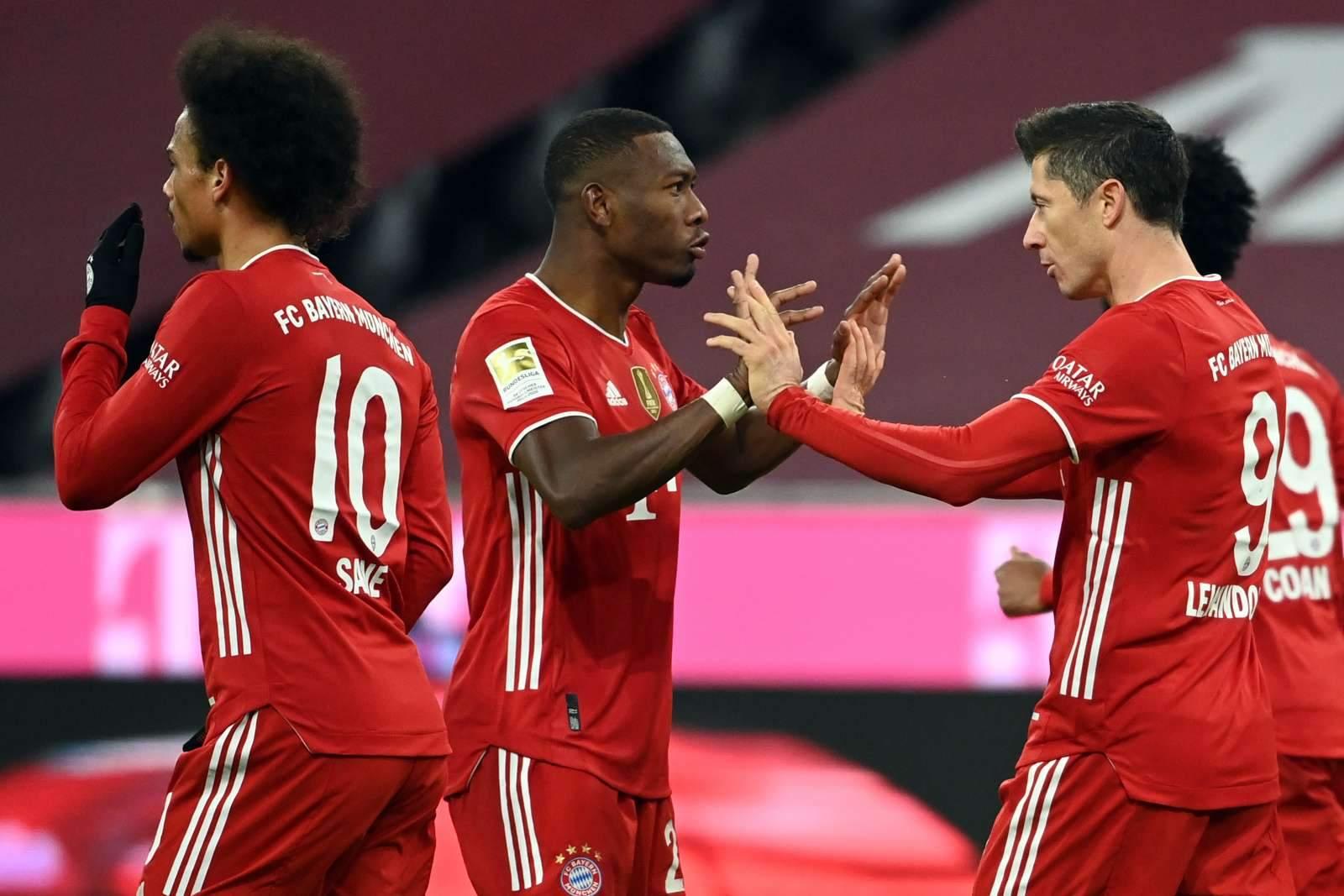 «Бавария» спокойно одолела «Вердер», по 3 очка у «Вольфсбурга», «Майнца» и «Униона»