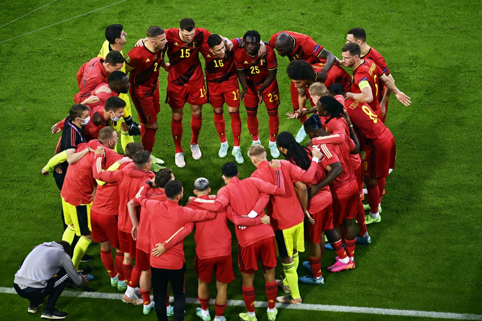 Деменко: «Бельгия показывает хороший красивый футбол, но ей не хватает какой-то концовки игры»