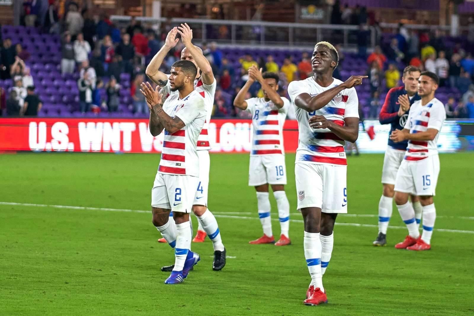 Сборная США обыграла Катар и вышла в финал Золотого Кубка КОНКАКАФ