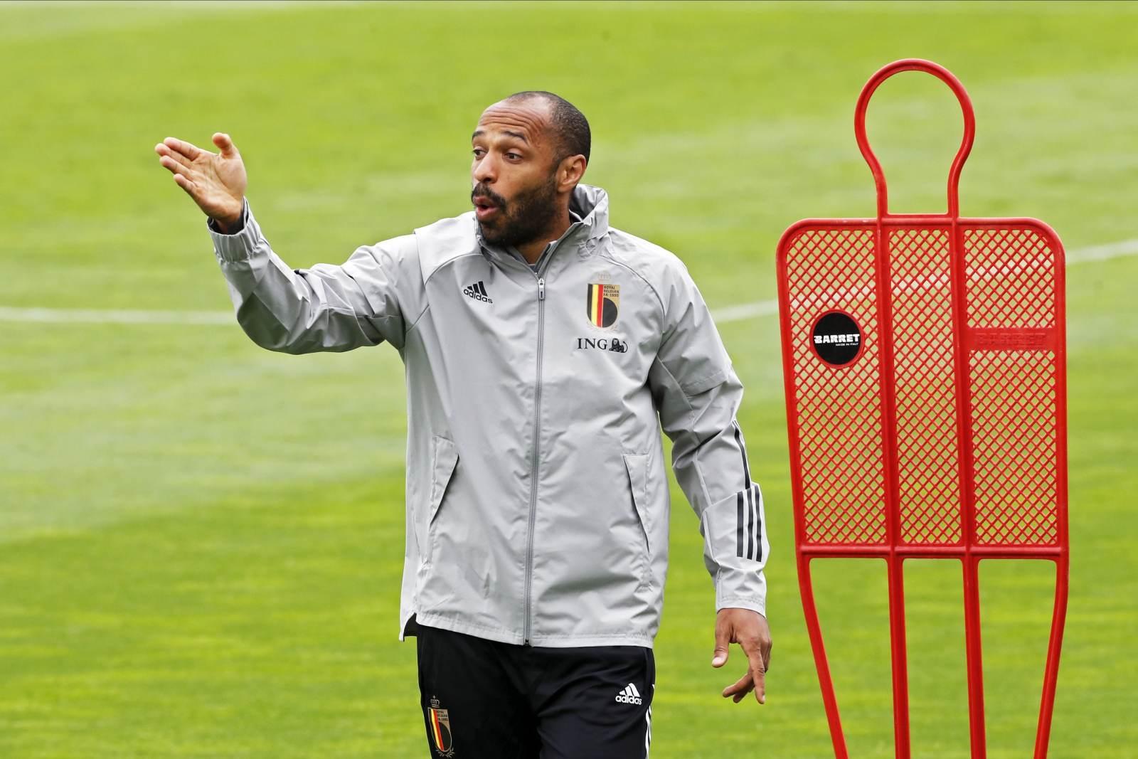 Анри ушёл из сборной Бельгии