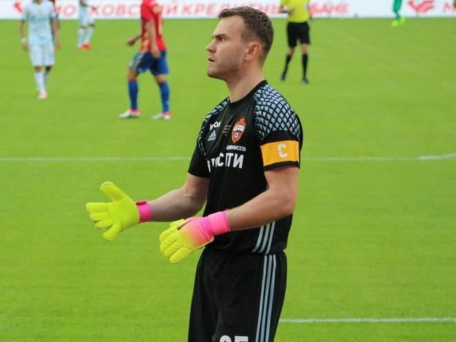 «Был план, чтобы восемь не пропустили»: Акинфеев рассказал об отъезде Ганчаренко после 0:4 от «Зенита»