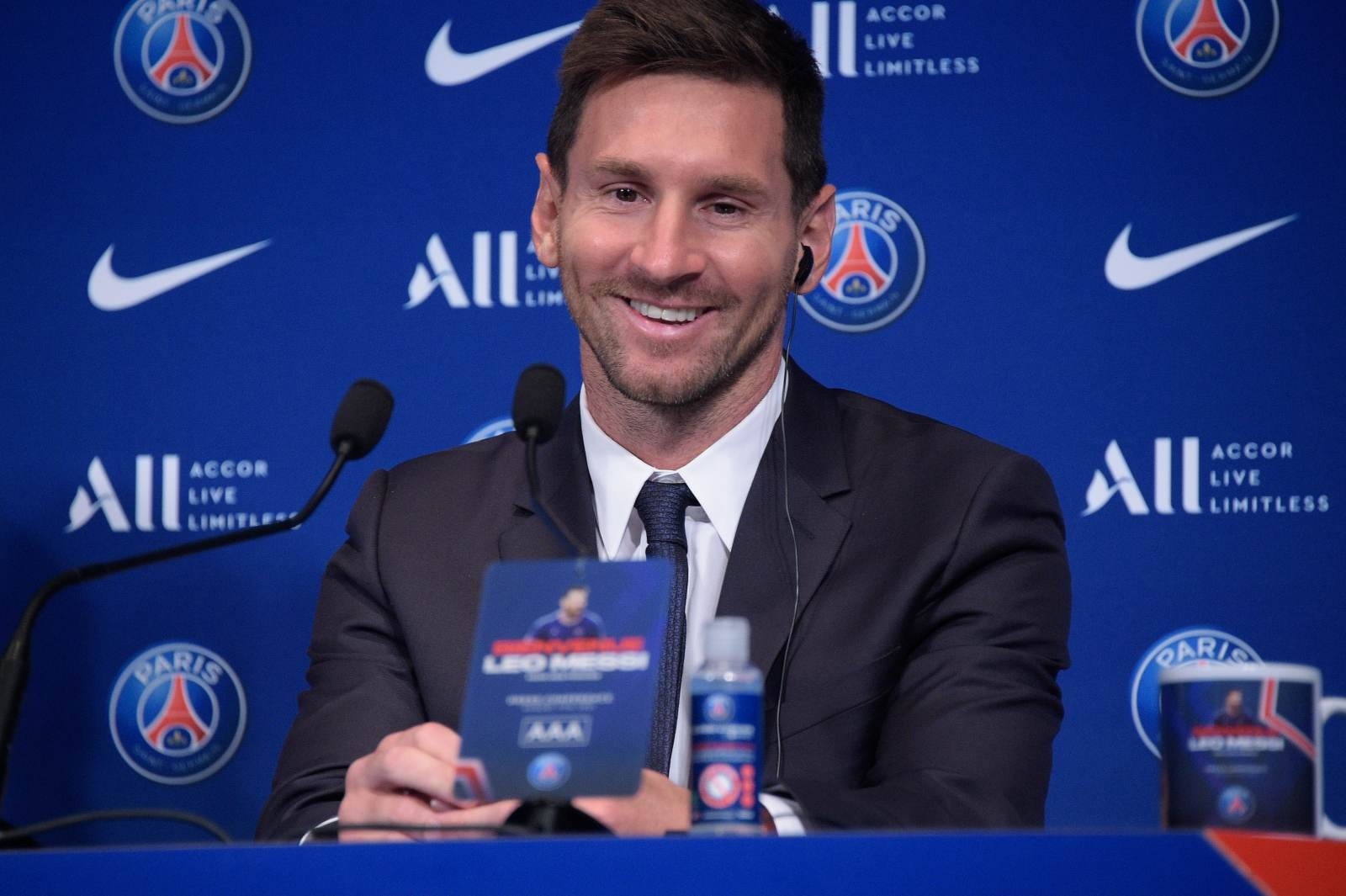 Первый гол Месси за «ПСЖ» пришёлся на команду Гвардиолы: «Манчестер Сити» проиграл в Париже